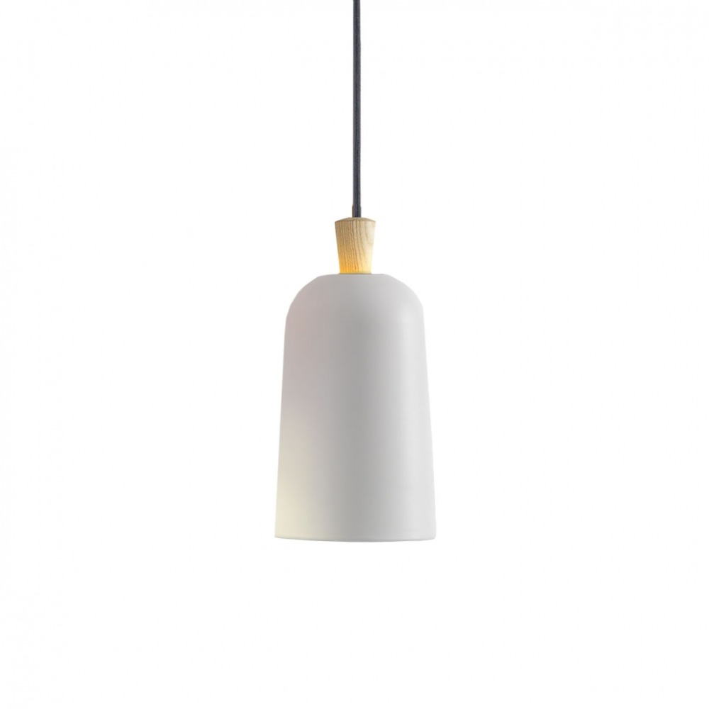 Us 89 99 Mini Traditional Nordic Wooden Pendant Lights White Orange Gray Lamp Cute Suspension For Bedroom Bathroom In From