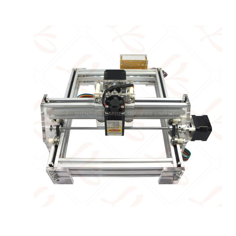1.5W DIY mini laser engraving machine1500mW Desktop DIY Laser Engraver Engraving Machine Picture CNC Printer 1600mw 50 65cm diy laser engraving machine mini laser engraver mini cnc machine best gift toys