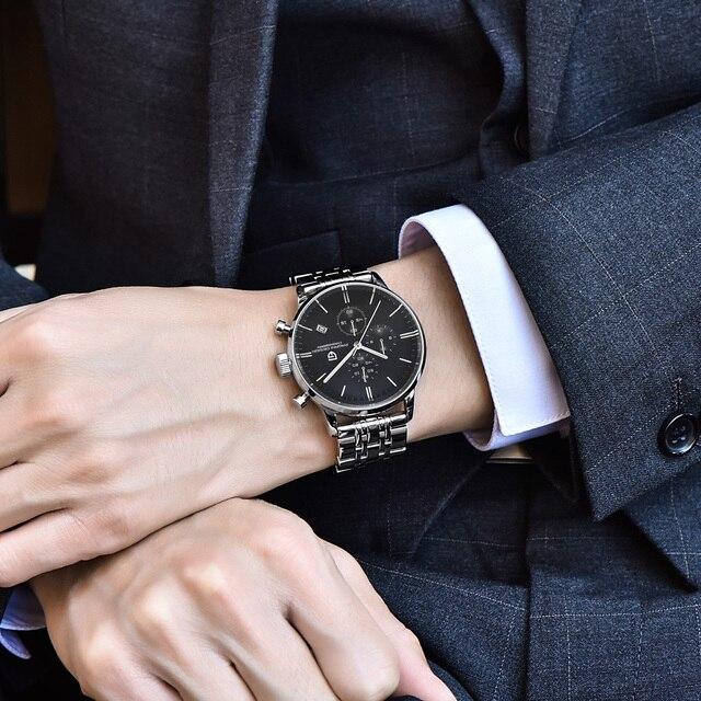 Fashion Chronograph Sports Watch Quartz Watch Luxury Brand PAGANI DESIGN 1