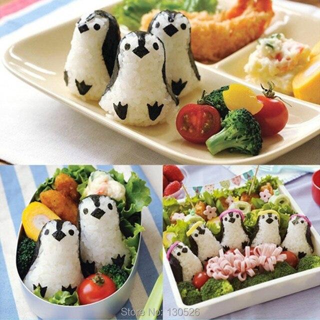 Carino Cucina FAI DA TE Cucina Gadget Sushi Strumenti penguins ...