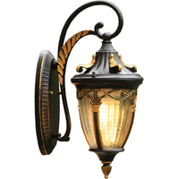 Открытый настенный Фонари Водонепроницаемый открытый настенный светильник Наружное освещение открытый Светильники для крыльца снаружи б