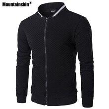 Mountainskin Для мужчин толстовки Демисезонный Куртки с длинными рукавами Повседневное пальто спортивная Для мужчин s брендовая одежда мужской толстовка SA564