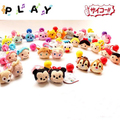 Wholesale 10pcs/lot tsum mickey minnie Donald Duck Dumbo  cartoon plush Doll Accessories cute hair rope