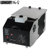Free Shipping with Flightcase 3000W Fogger Machine Professional Low Ground Fog Machine /Smoke Machine For Wedding Stage