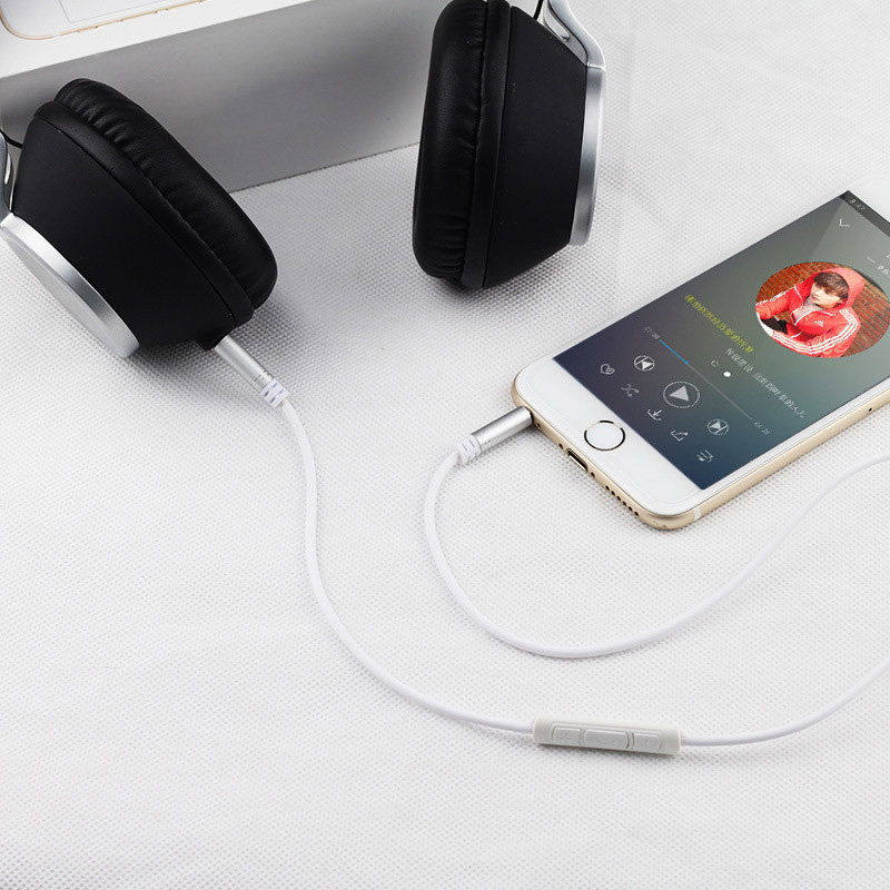 Image 5 - Jack 3.5 Audio Extension Cable for Huawei P20 lite Stereo 3.5mm Jack Aux Cable for Headphones