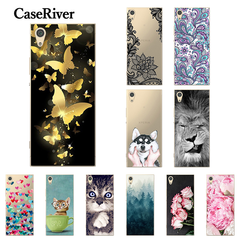 5.0'' FOR Capa <font><b>Sony</b></font> Xperia XA1 Case G3121 <font><b>G3112</b></font> G3123 G3116 Phone Back Cover FOR Funda <font><b>Sony</b></font> Xperia Z6 Case Cover FOR <font><b>Sony</b></font> XA1 image