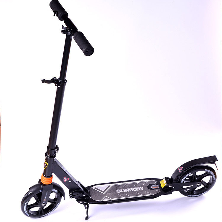 Online buy wholesale push scooter adult from china push for Big wheel motor scooter