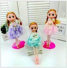 1pcs 2016 Confused doll gift mini cute girl dolls Fashion Popular dolls girl gift dolls toys Free shipping