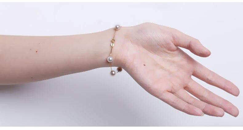 akoya pearl gold bracelet jewelry 100