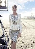 Элегантный lvory короткие кружева мать невесты платье с курткой длиной до колен vestidos madrinha vestido мэй da noiva курто MBD65