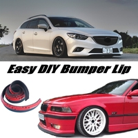 NOVOVISU For Mazda 6 M6 MPS For Mazda6 Atenza Bumper Lip / Front Spoiler Deflector For Car Tuning / Body Kit / Strip Skirt