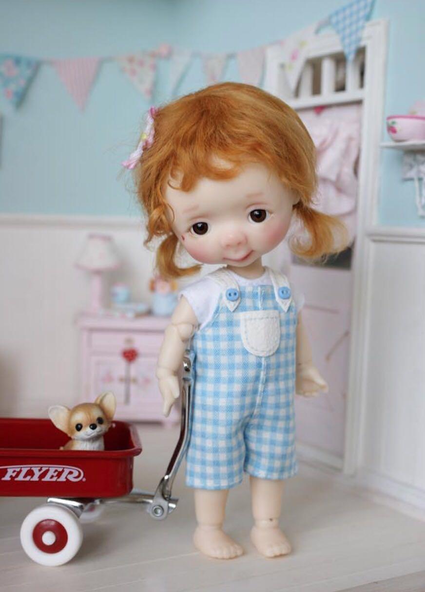 Oyuncaklar ve Hobi Ürünleri'ten Bebekler'de 1/8 BJD Doll Jinny'da  Grup 1