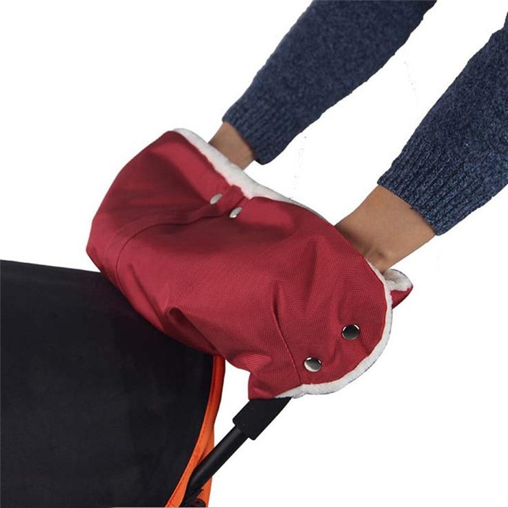 Mummy Stroller Warmer Gloves Pushchair Hand Muff Windtight Waterproof Pram Accessory Baby Buggy Clutch Cart Muff