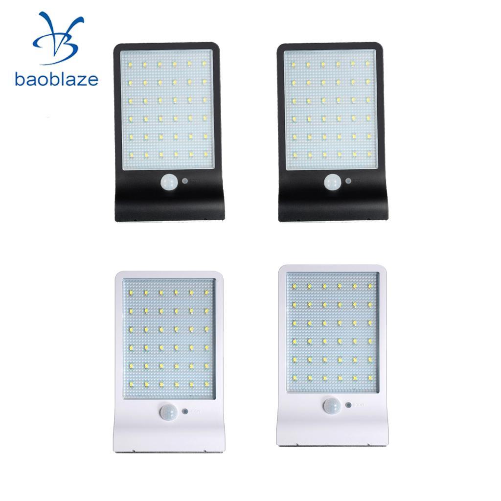 4pcs Waterproof Outdoor Wall 36LED  Light Motion Sensor Lamp without pole