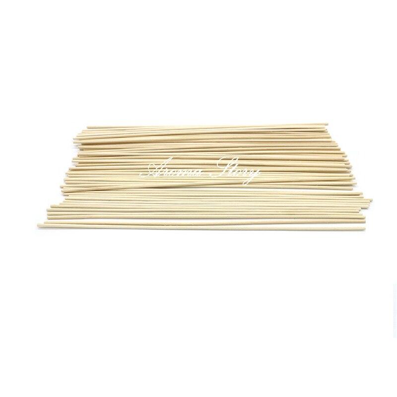100pcs/Lot 24cmx3mm High Quality Nature Rattan Sticks Reed Diffuser Sticks Aromatic Sticks for Home Decoration