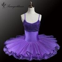 Free Shipping Adult Lycra Purple Ballet Tutu Classical Ballet Tutu Professional Ballet Tutus Girl Ballet Tutu