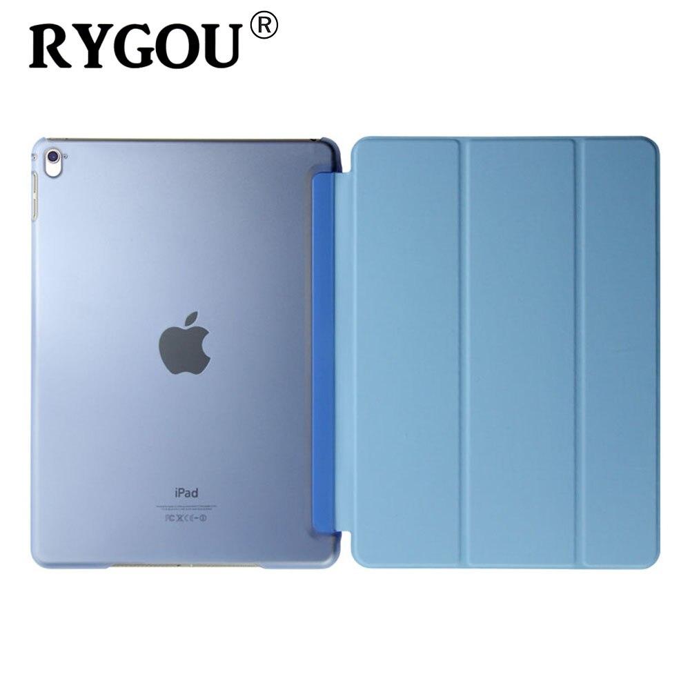 Rygou Case for Apple iPad Pro 9.7 2016 Release, Ultra Slim Pu Leather Smart Cover Magnet Wakt UP Sleep for iPad Pro 9.7 Case статуэтки 2 шт 29 х 17 х 25 см