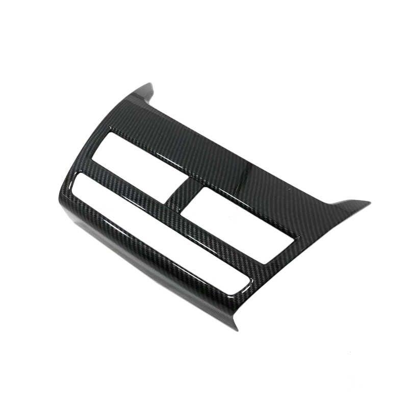 2 pcs ABS כפתור מזגן מתג כיסוי רכב לוח מחוונים ניווט GPS מולטימדיה פנל כיסוי למיצובישי אקליפס צלב 2018