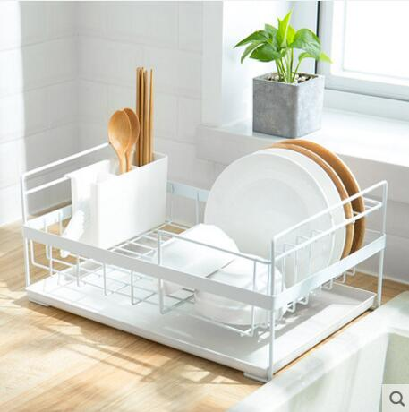Creative household kitchen sink dishes chopsticks and drainage shelves in Storage Holders Racks from Home Garden