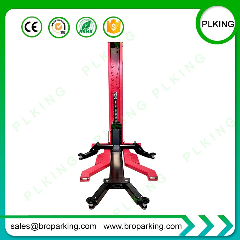 PLKING Movable Single Post Lift Auto Lifter Car Lift With