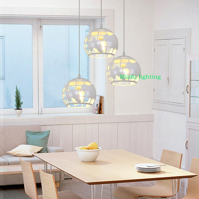 Modern Hanging Lights For Dining Room Industrial Pendant