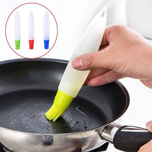 hohe qualität küche werkzeug silikon honig Öl pinsel flasche ... - Silikon Küche
