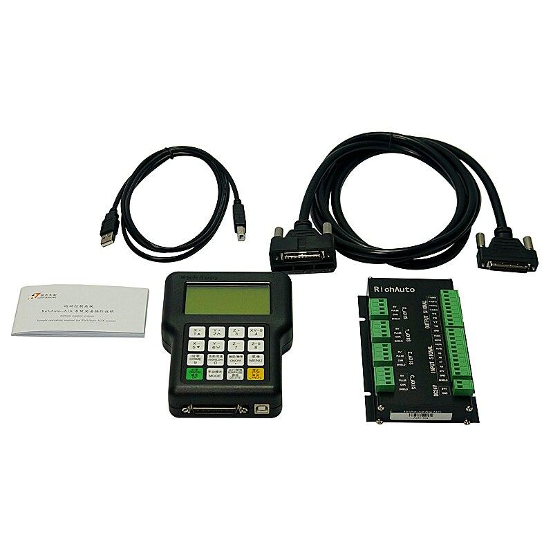 Contrôleur 3 axes RichAuto DSP A11 contrôleur de CNC A11S A11E pour machine à CNC mieux que le contrôleur DSP 0501