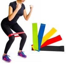 5 Piece Yoga Resistance Bands Fitness Equipment Gummi Loop Pilates Sport Træning Workout Elastisk Band Set