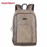 Korean Laptop Backpack Aspensport 16 Fashionable Casual Sport College Shoulders Bag Outdoor Business Cumputer Laptop Backpack