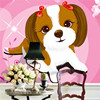Cute Puppy Photo Wallpaper Large Art Wall Mural Silk Wallpaper Girl S Room Kid S Room