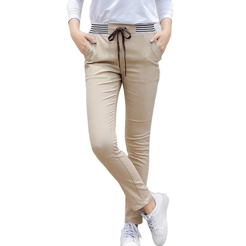 streetwear fashionable women's   pants   for women trousers ladies harem   pants     capris   female woman high waist   pants   Plus size XXXL