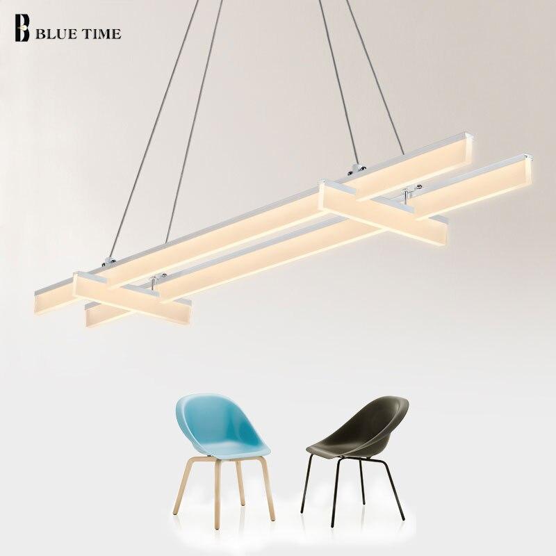 Modern led pendant light Aluminum acrylic home Industrial lighting hang lamp dining room living room bar cafe droplight fixture стоимость