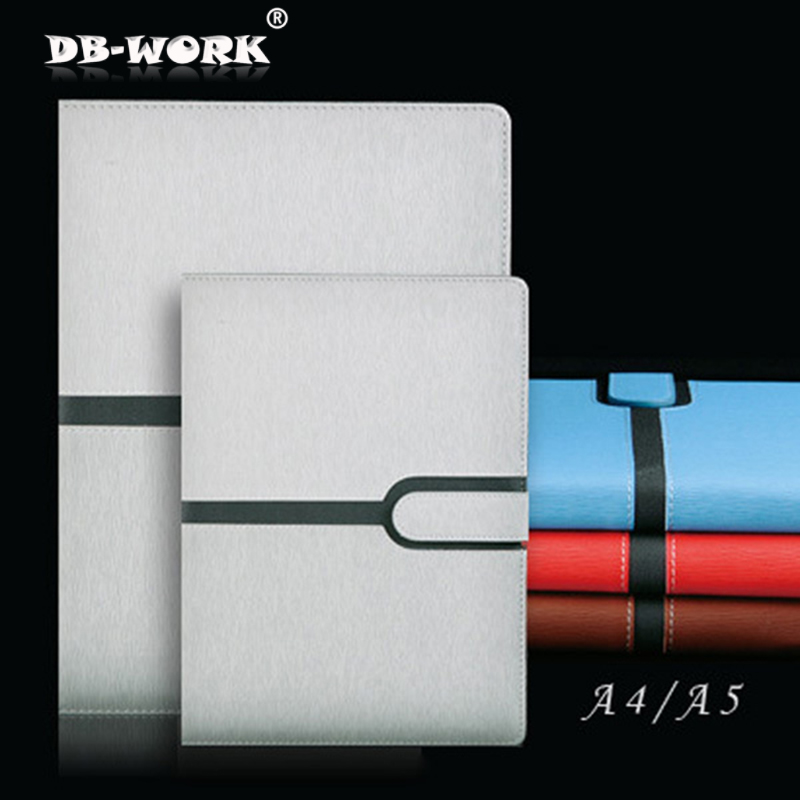 A4 A5 High-end business notepad Contrast color stitching paperback notepad Office stationery will thicken large-sized diary book men contrast stitching elastic foot jeans