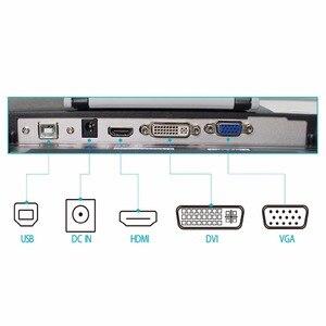 Image 4 - Huion GT220 الرقمية اللوحي مراقب 21.5 IPS مراقب حديثا تصميم قلم شاشة اللمس ل يفوز الحرة حامي قفاز محول هدايا