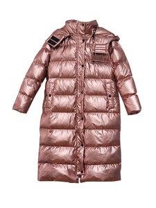 Image 5 - Missfofo 2019 novo inverno para baixo casacos longo inverno capa parka 90% pato branco para baixo magro sólido casaco feminino S XL