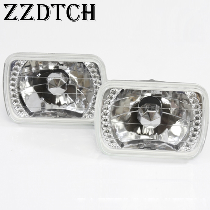 ZZDTCH 2 шт. 12 в 7 дюймов квадратный Универсальный светодиодный налобный фонарь, используемый для захвата головы лампы