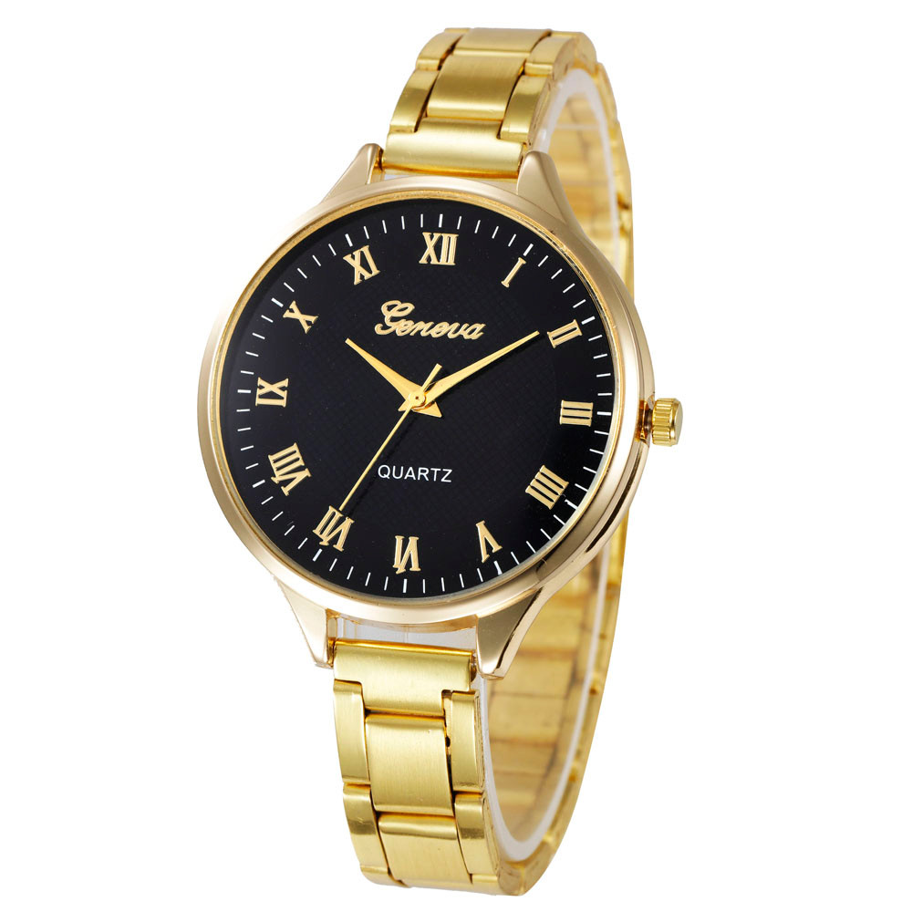 relojes mujer gold watch woman Fashion Women Crystal Stainless Steel Analog Quartz Wrist Watch reloj-hombre ladies watches weiqin luxury gold wrist watch for women rhinestone crystal fashion ladies analog quartz watch reloj mujer clock female relogios