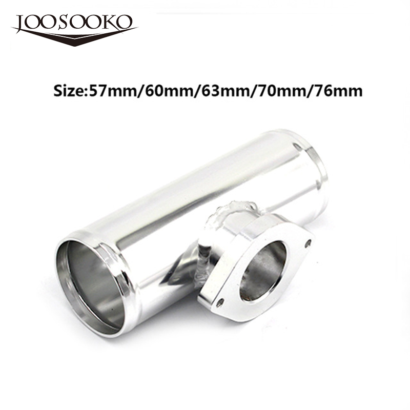 70mm Aluminum Blow Off Valve Flange Adapter Pipe for Greddy RS RZ FV 15cm Length