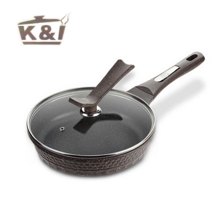 K & I Maifanshi no oil frying pan pan no stick pot electromagnetic cooker gas common   KI-JG1824 edtid multifunctional electric cooker mini heat pan students hot pot without oil fume nonstick frying pan special offer