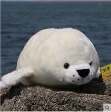 Новое поступление 2020 мягкая плюшевая игрушка whit seal для