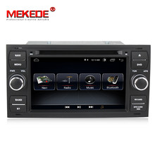 MEKEDE Android 8.1 Car DVD GPS Navigation Player Stereo Radio Audio For Ford Focus 2 Mondeo S C Max Fiesta Galaxy Connect(China)