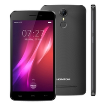 Original HOMTOM HT27 3G Smartphone 5.5 Inch MAndroid 6.0 TK6580 Quad Core Mobile Phones 1GB+8GB 5MP+8MP Cameras BT 4.0 Cellphone