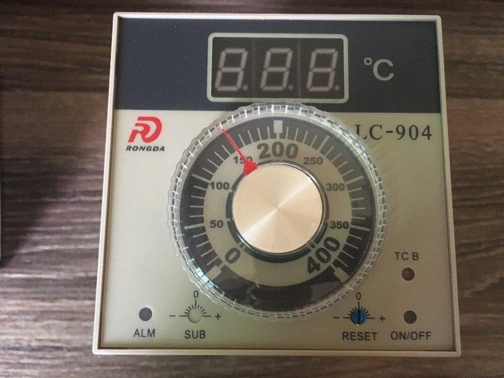 LC-904 RONGDA thermostat régulateur de température 0-400 type: k nouveau original