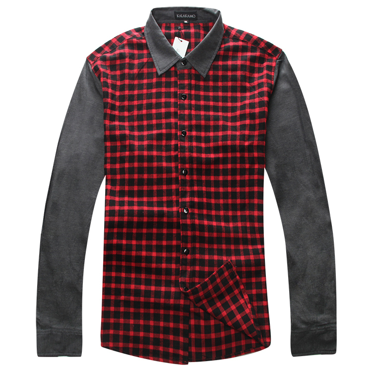 XXXL 4xl 5xl 6xl 7xl 8xl men shirt shirts mens dress brand clothes slim fit denim men's clothing - Online Store 226431 store