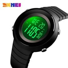 цена на SKMEI Simple Men Sports Watches Back Light LED 50M Waterproof Digital Watch Chronograph Week Wristwatches Relogio Masculino 1507