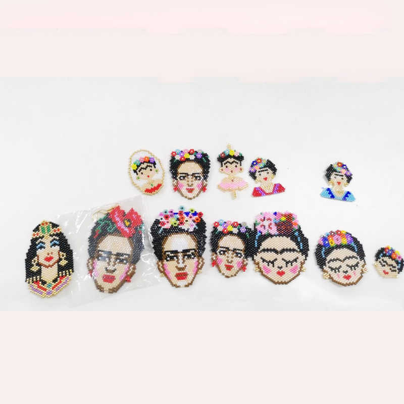 JOYE rétro pendentifs fabrication de bijoux 2019 MIYUKI tila perles bracelet charme Mexio mode visage breloques à assembler soi-même pour bracelets en gros