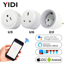 Wifi Smart Plug Socket wireless Remote Control US UK EU Wall Outlet Plug Home electrical socket Adaptor APP control Power Socket недорого