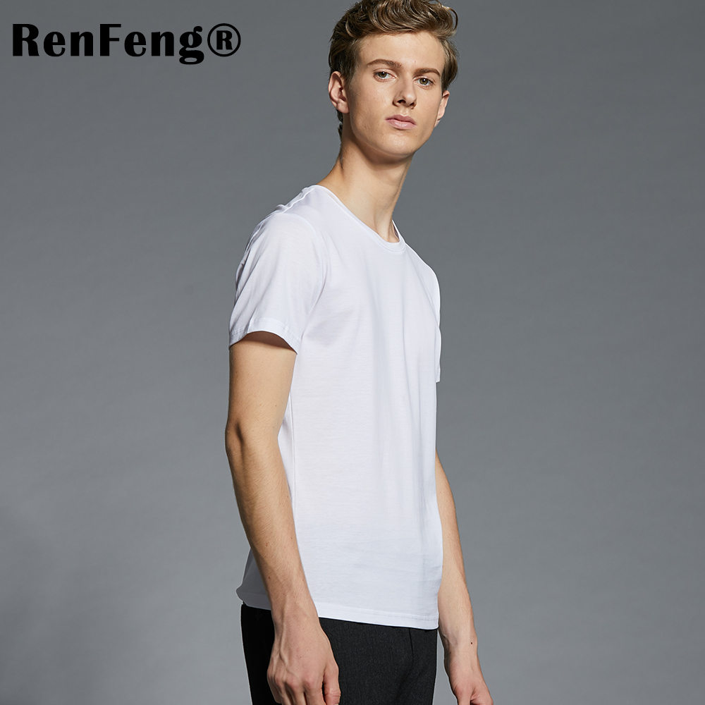 Men's Ice Silk Undershirts tshirt Compression Singlet Underwear Breathable Man Vest Bottoming shirts Men Camiseta Masculina (9)