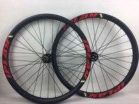 IPLAY 110/148 BOOST углерода MTB колеса 40 mmBOOST 29er углеродного волокна колесо 40 мм Ширина 29 углерода колеса mtb углерода 29ER колесная