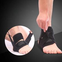 OOTDTY Ankle Foot Support Elastic Brace Adjustable Football Basketball sprain injury  ankle pad